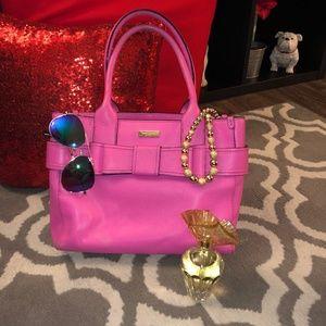Kate Spade Pink Bow Purse